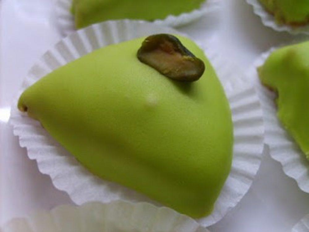 Pâtisseries Orientales : M'khabez à la Pistache